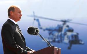 Путин на  МАКС-2015